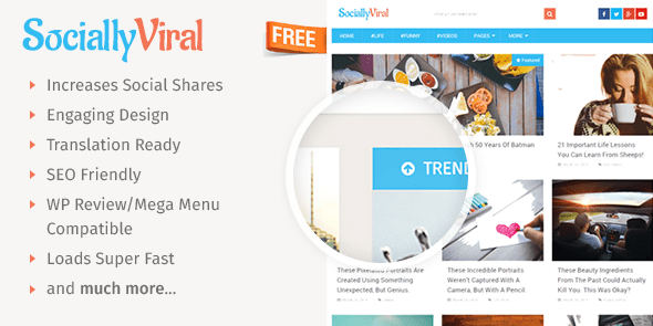 SociallyViral wordpress theme