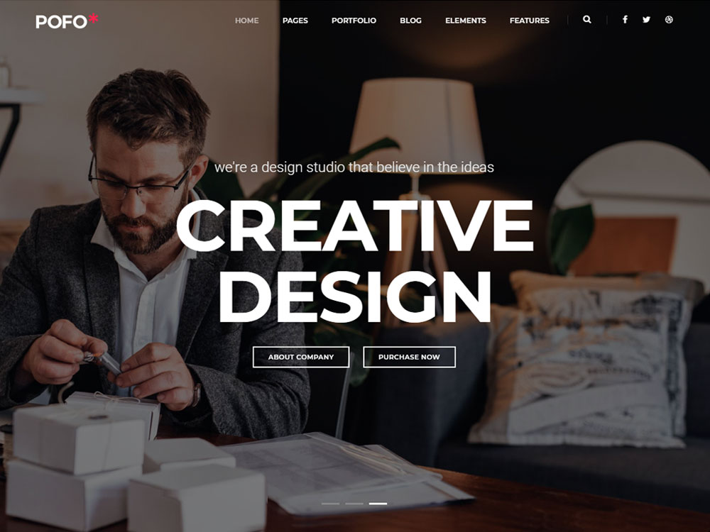 pofo wordpress theme